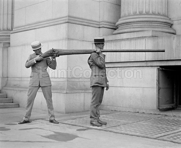 Bring Out the Big Guns, or Small Men, 1923
