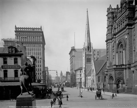 Broad Street North from City Hall