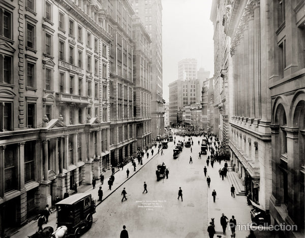 Broad Street South from Wall Street