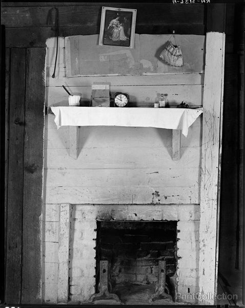 Burroughs' Fireplace, Hale County, Alabama