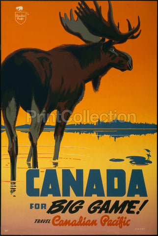 Canada for Big Game! Travel Canadian Pacific