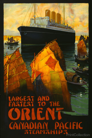 Canadian Pacific Steamships to the Orient