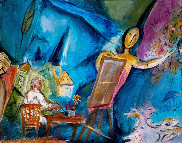 Chagall's Paris