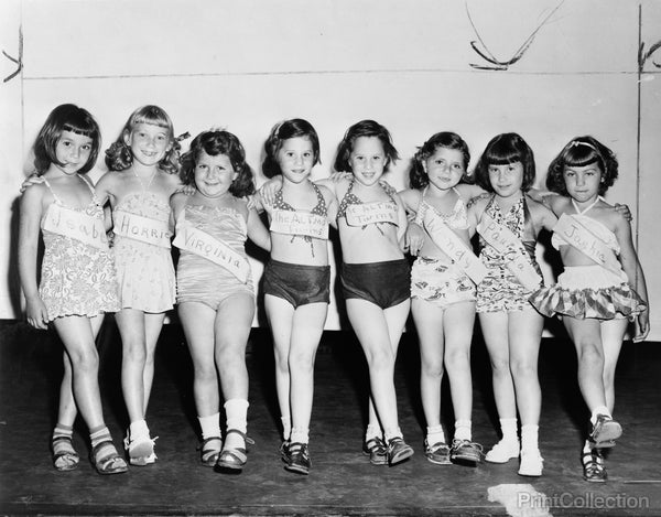 Child Beauty Contest 1951