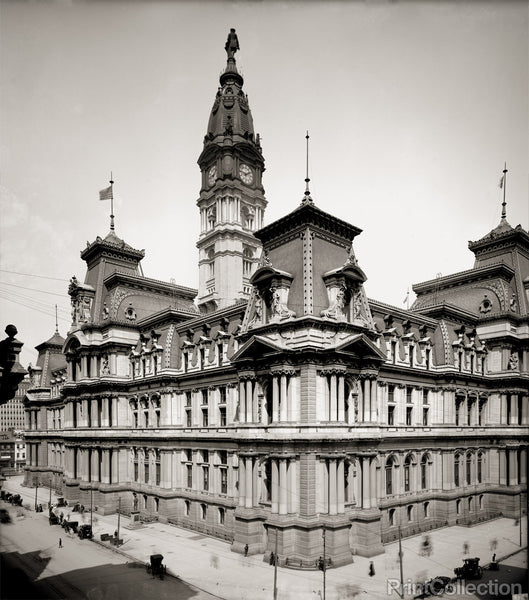 City Hall, Philadelphia, PA, ca, 1905
