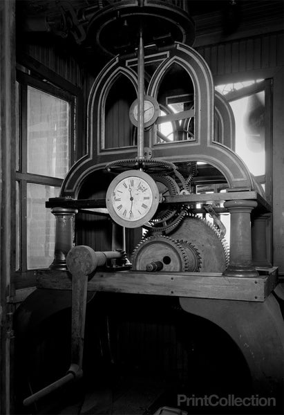 Clock Works Detail, Tribune Building, 154 Printing House Square, New York, NY