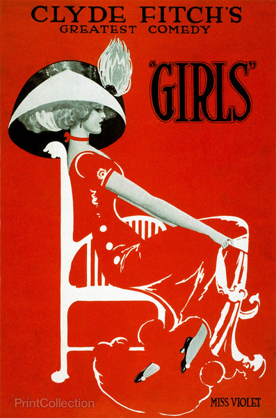 "Clyde Fitch's Greatest Comedy, ""Girls"""