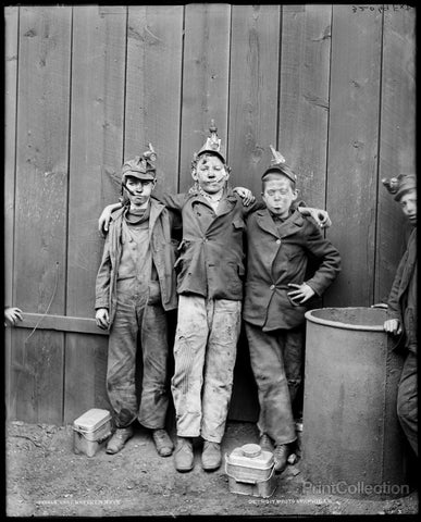 Coal Breaker Boys Kingston, Pa.