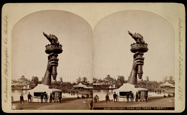 "Colossal Hand and Torch ""Liberty"""