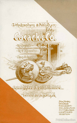 Cosack & Co. Lithographers & Publishers