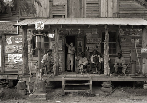 Country Store on Dirt Road