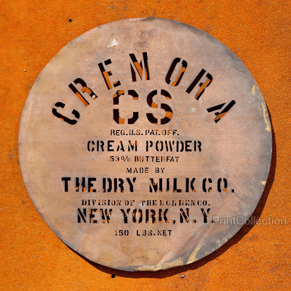 Cremora CS Cream Powder Coper Stencil Round