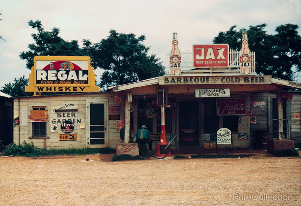 "Cross Roads Store, Bar, ""juke joint,"" Melrose, La."