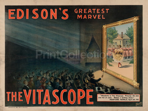 Edison's Greatest Marvel - The Vitascope
