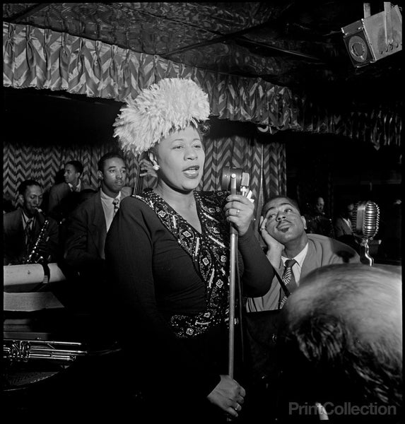 Ella Fitzgerald on Stage