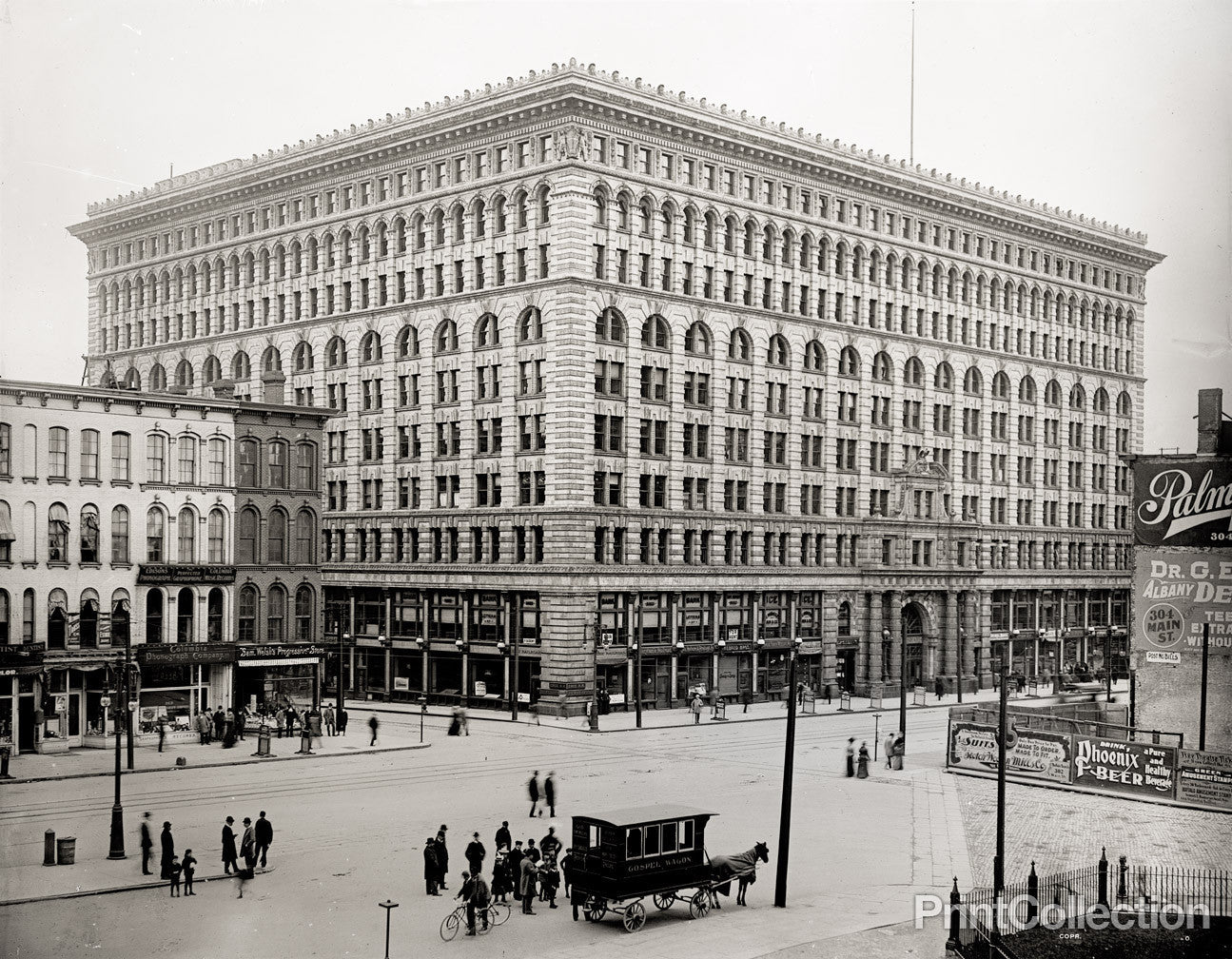 Print Collection Ellicott Square Building Buffalo N Y