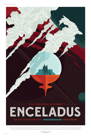 Visit Beautiful Southern Enceladus