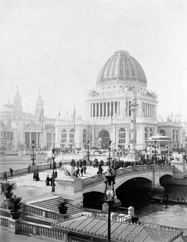 Exposition Grounds, World's Columbian Exposition, Chicago
