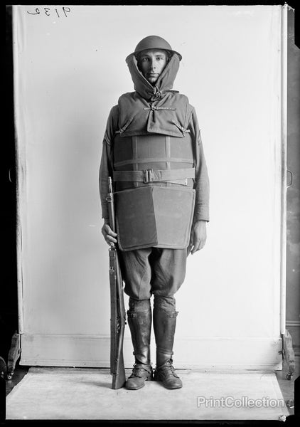 Fall Fashion, US Military Fall 1918 or so.