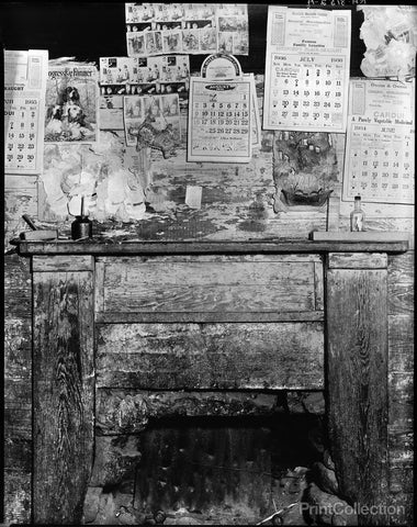 Fireplace, Hale County, Alabama