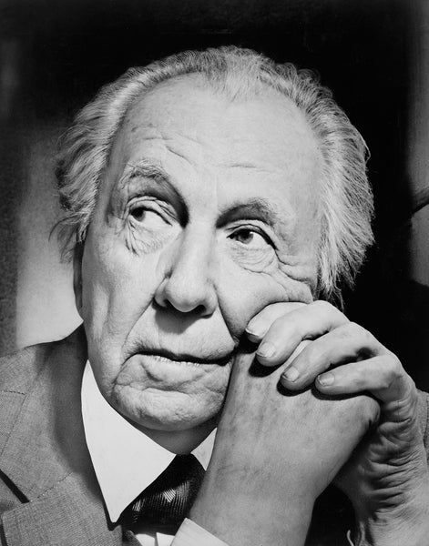 Frank Lloyd Wright, Head-And-Shoulders Portrait
