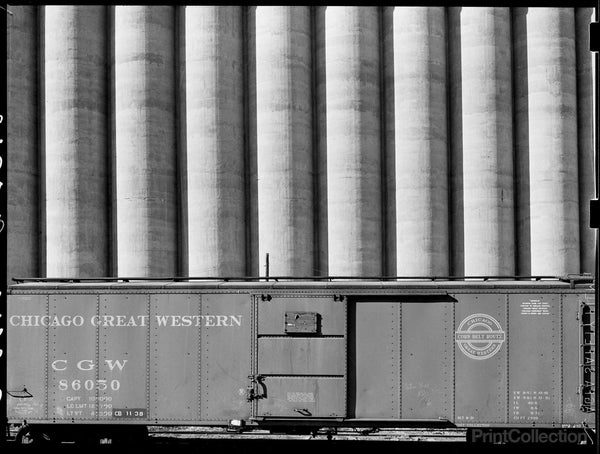 Freight Car and Grain Clevators