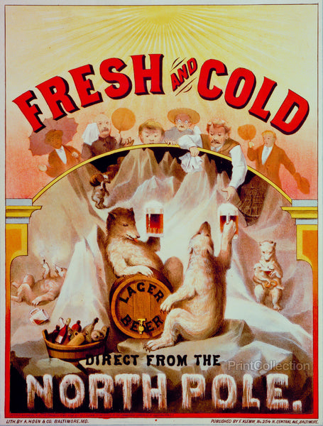 Fresh and Cold--Direct from the North Pole
