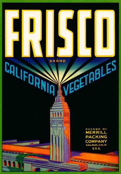 Frisco Brand California Vegetables