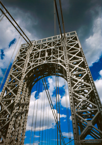 George Washington Bridge Looking Up