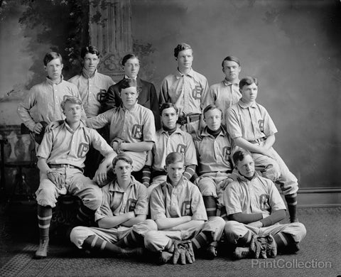 Georgetown Prep Baseball Team Around 1905