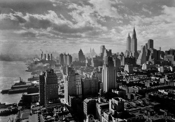 Gottscho's Godly view of New York, 1931