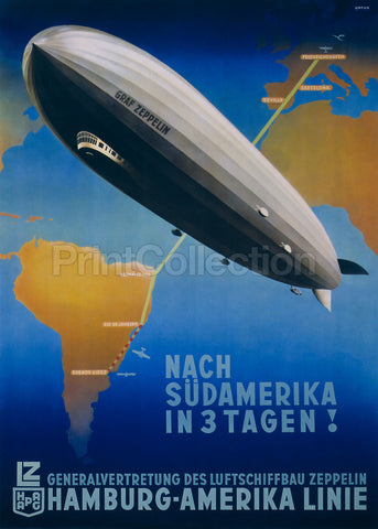 Graf Zeppelin, Germany to Buenos Aires
