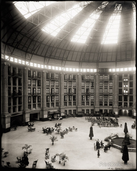 Hotel Atrium, West Baden Strings, Indiana