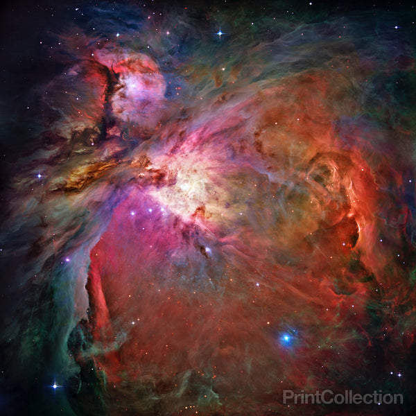 Hubble Panoramic View of Orion Nebula Reveals Thousands of Stars