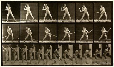 Human Males in Motion - Nude, 52 - Vol 1 - Plate 275