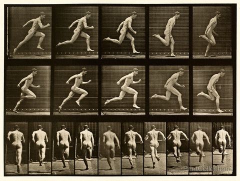 Human Males in Motion Nude Vol 1 - Plate 68
