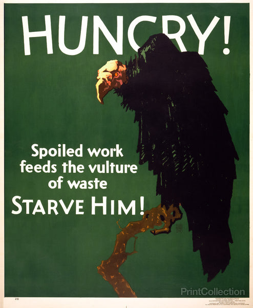 Hungry! Starve Him!