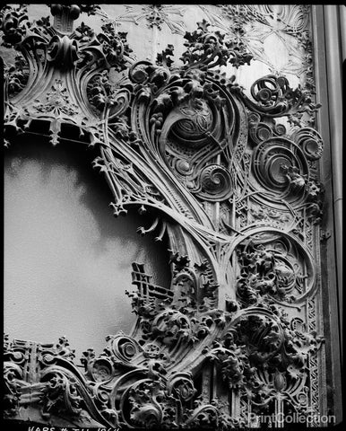 Iron Ornament, Schlesinger & Mayer Department Store