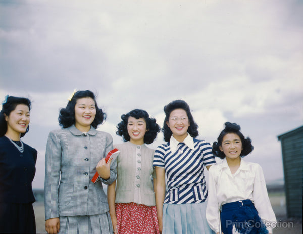 Japanese-American Camp, War Emergency Evacuation