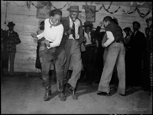 Jitterbugging in Juke Joint, Mississippi