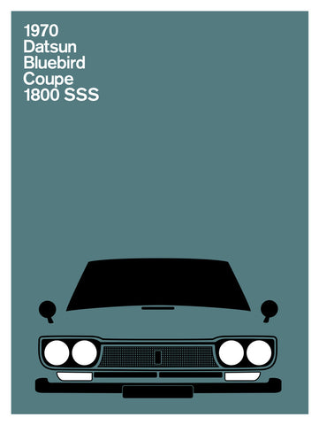 Datsun Bluebird Coupe 1800 SSS, 1970