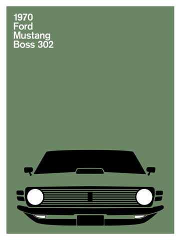 Ford Mustang Boss, 1971