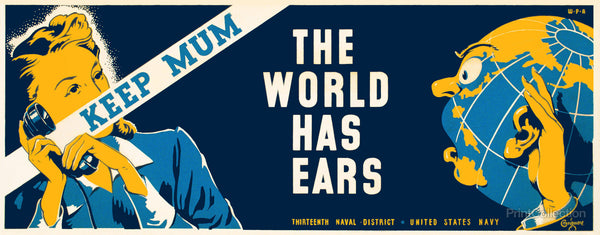 Keep Mum - The World Has Ears