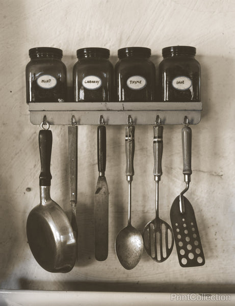 Kitchen Utensils and Spices