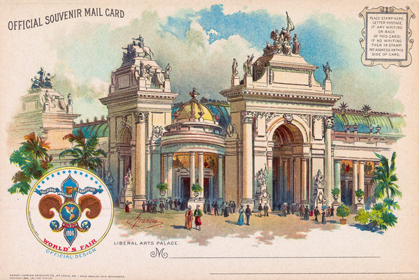 Liberal Arts Palace, St. Louis Worlds Fair 1901