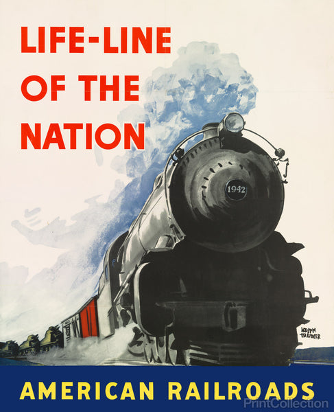 Life-line of the Nation American Railroads