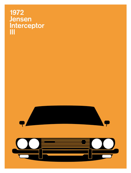Jensen Interceptor III, 1972