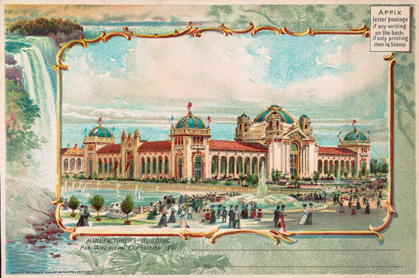 Manufacturers Building Pan-American-Exposition-1901-Buffalo-NY