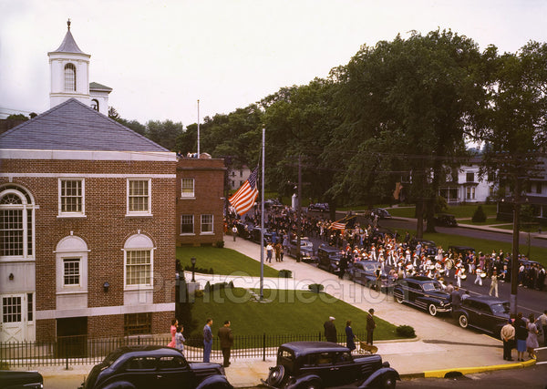 Memorial Day Parade, Southington, CT, May 30th 1942