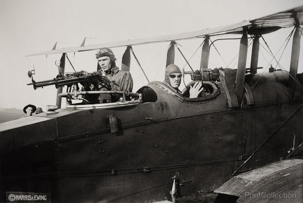 Men in Their Aeroplanes in 1920